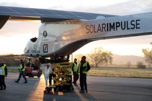 Solar Impulse on the ground©