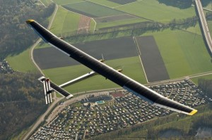 Pretty photo of Solar Impulse in flight!!! ©